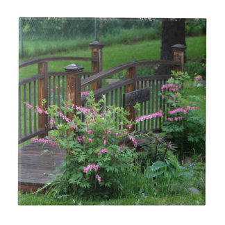 El jardín de Mercury Azulejo Cuadrado Pequeño