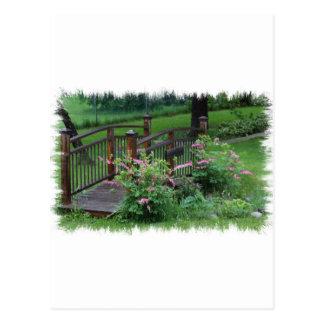 El jardín de Mercury Tarjeta Postal