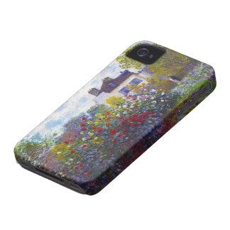 El jardín de Monet en Argenteuil Claude Monet Carcasa Para iPhone 4 De Case-Mate