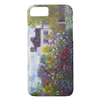 El jardín de Monet en Argenteuil Claude Monet Funda iPhone 7