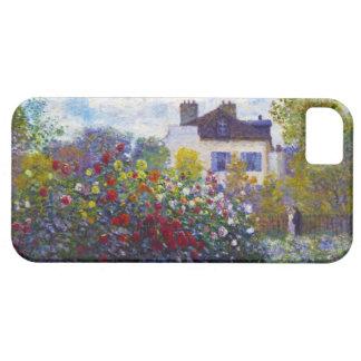 El jardín de Monet en Argenteuil Claude Monet Funda Para iPhone SE/5/5s