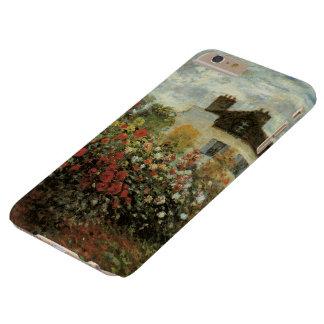 El jardín de Monet en el impresionismo del vintage Funda De iPhone 6 Plus Barely There