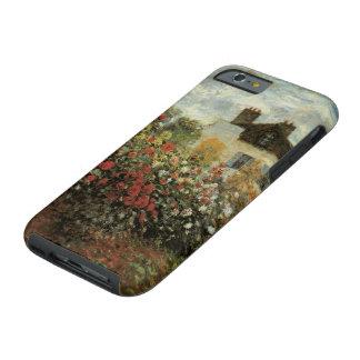 El jardín de Monet en el impresionismo del vintage Funda De iPhone 6 Tough