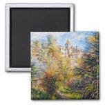 El jardín de Moreno en Bordighera, Claude Monet 18 Imán Para Frigorifico