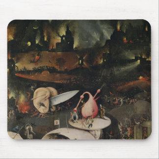 El jardín de placeres terrestres, infierno alfombrilla de raton