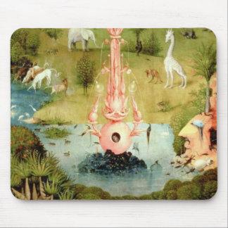 El jardín de placeres terrestres tapete de ratón