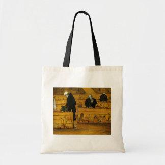 El jardín de Simberg de los bolsos de la muerte -