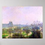 El jardín de Tuileries de Camille Pissarro Poster