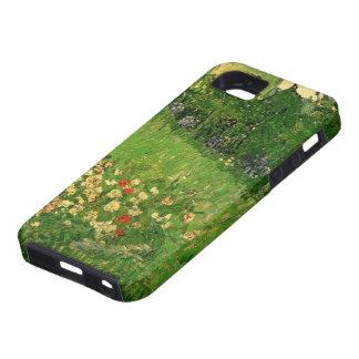 El jardín de Van Gogh Daubigny, vintage florece iPhone 5 Case-Mate Protector