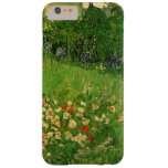 El jardín de Van Gogh Daubigny, vintage florece Funda De iPhone 6 Plus Barely There