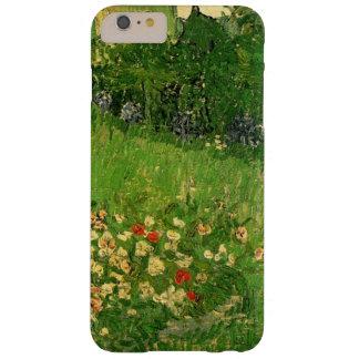 El jardín de Van Gogh Daubigny, vintage florece Funda Para iPhone 6 Plus Barely There