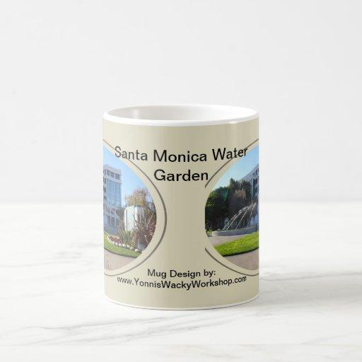 El jardín del agua taza básica blanca