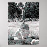 El jardín del ángel poster