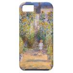 El jardín del artista de Claude Monet iPhone 5 Protectores