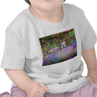 El jardín del artista en Giverny, Claude Monet Camiseta