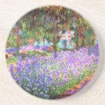 El jardín del artista en Giverny, Claude Monet Posavasos Manualidades