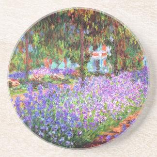 El jardín del artista en Giverny Claude Monet Posavasos Manualidades