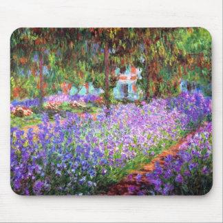 El jardín del artista en Giverny, Claude Monet Alfombrilla De Ratones