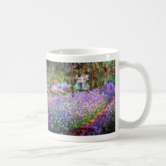 El jardín del artista en Giverny Claude Monet Tazas