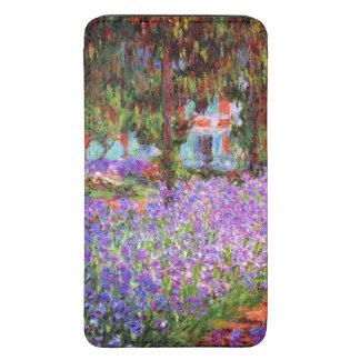 El jardín del artista en Giverny de Monet Funda Acolchada Para Galaxy S5