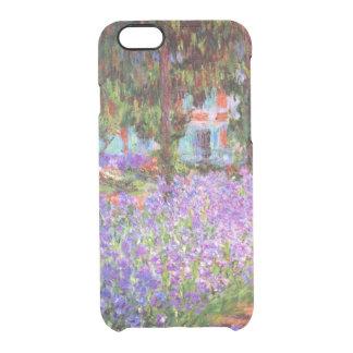 El jardín del artista en Giverny de Monet Funda Clearly™ Deflector Para iPhone 6 De Uncommon
