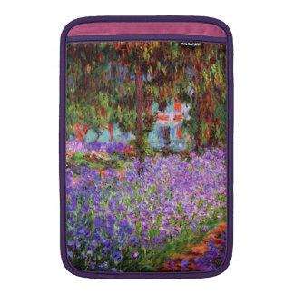 El jardín del artista en Giverny de Monet Funda MacBook