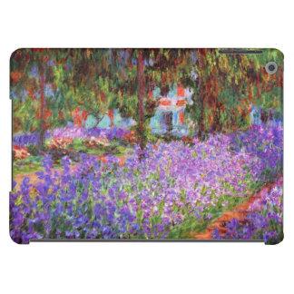 El jardín del artista en Giverny de Monet Funda Para iPad Air