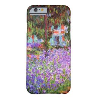El jardín del artista en Giverny de Monet Funda Para iPhone 6 Barely There