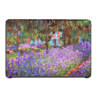 El jardín del artista en Giverny de Monet Fundas De iPad Mini