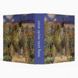 """El jardín del artista en Vetheuil de Claude Monet Carpeta 1 1/2"""""""