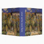 El jardín del artista en Vetheuil de Monet, arte