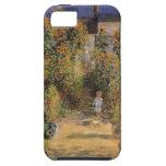 El jardín del artista en Vetheuil de Monet, arte iPhone 5 Case-Mate Protectores