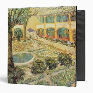 El jardín del asilo en Arles, 1889 (aceite en lona