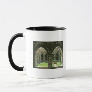 El jardín del claustro taza