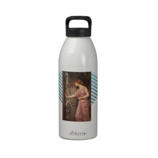 El jardín del Cupid que entra de la psique del wat Botellas De Agua Reutilizables