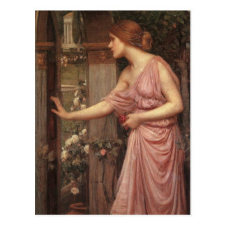 El jardín del Cupid que entra de la psique