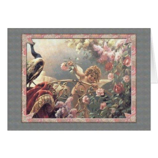 El jardín del Cupid - tarjeta del día de San