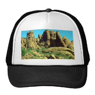 El jardín del diablo, arcos parque nacional, roca  gorra