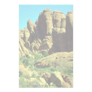 El jardín del diablo, arcos parque nacional, roca  papelería de diseño