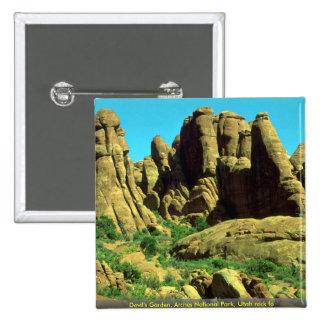 El jardín del diablo, arcos parque nacional, roca  pins
