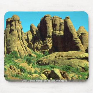 El jardín del diablo, arcos parque nacional, roca  alfombrillas de ratón