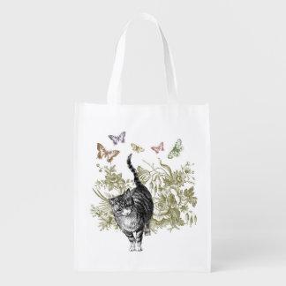 El jardín del gatito bolsa de la compra