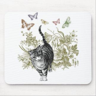 El jardín del gatito tapete de ratones