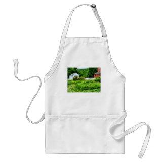 El jardín del granjero delantal