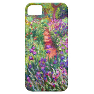 El jardín del iris de Claude Monet iPhone 5 Case-Mate Carcasa