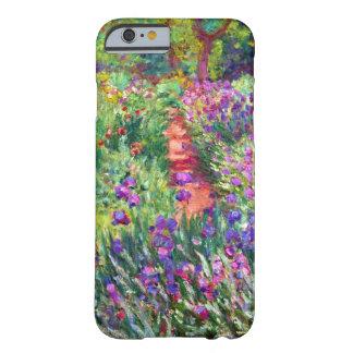 El jardín del iris de Claude Monet Funda Para iPhone 6 Barely There