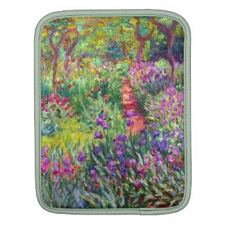El jardín del iris de Claude Monet Funda Para iPads