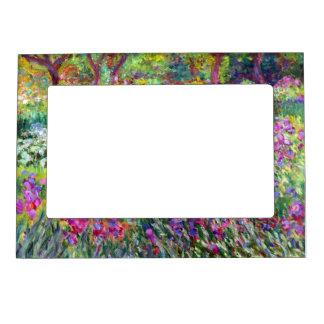 El jardín del iris de Claude Monet Marcos Magneticos De Fotos