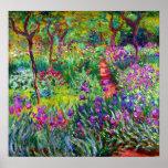 El jardín del iris en el poster de la bella arte