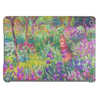 El jardín del iris en Giverny Claude Monet fresco, Funda Para iPad Air